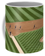 Safeco Field Abstract Patterns With Ground Crew Coffee Mug