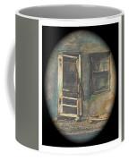 Sagging Door Lordsburg New Mexico 1968-2012 Coffee Mug