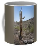 Saguaro Skeleton Coffee Mug
