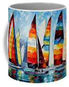 Sail Regatta Coffee Mug
