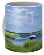 Sailboat Salt Marsh Coffee Mug