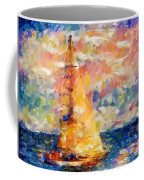 Sailing In The Sea Coffee Mug