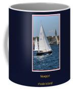 Sailing Newport Coffee Mug