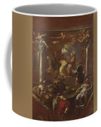 Saint Anthony Of Padua Restores The Foot Of A Man Coffee Mug