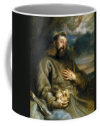 Saint Francis Of Assisi In Ecstasy Coffee Mug