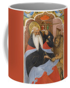 Saint Jerome Extracting A Thorn From A Lion's Paw Coffee Mug