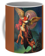 Saint Michael The Warrior Archangel Coffee Mug