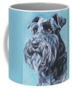 Schnauzer Coffee Mug by Lee Ann Shepard