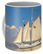 Schooner On Mobile Bay Coffee Mug