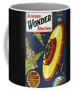 Sci-fi Magazine Cover, 1929 Coffee Mug