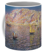 Seascape View Of Palma De Mallorca Coffee Mug