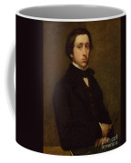 Self Portrait Coffee Mug by Edgar Degas