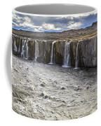 Selfoss Waterfall Coffee Mug