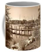 Sepia Waterscape Coffee Mug