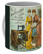 Sewing Machine Ad, C1880 Coffee Mug by Granger