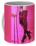 Sexy Legs Pop Art Coffee Mug