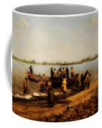 Shad Fishing On The Delaware River Coffee Mug