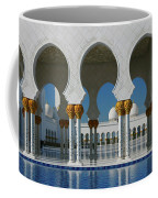Sheikh Zayed Grand Mosque Abu Dhabi United Arab Emirates Coffee Mug