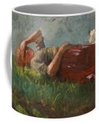 Shepherd Girl Resting Coffee Mug