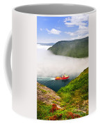 Ship Entering The Narrows Of St John's Coffee Mug