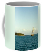 Ship Off The Bow Coffee Mug