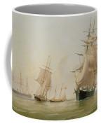 Ship Painting Coffee Mug by WF Settle