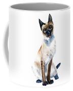 Siamese Cat Painting Coffee Mug