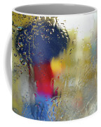 Silhouette In The Rain Coffee Mug by Carlos Caetano