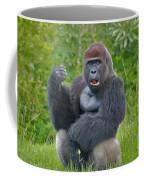 1- Silverback Western Lowland Gorilla  Coffee Mug