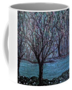 Single Tree On The Grand River Coffee Mug