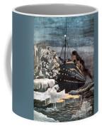 Sinking Of The Titanic Coffee Mug by Granger
