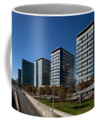 Skyscrapers In A City, Illa De La Llum Coffee Mug