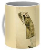 Sleeping Girl Coffee Mug