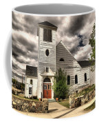 Small Town Church Coffee Mug