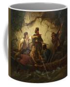 Smuggler In A Boat Coffee Mug