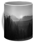 Snake River Sunset Bw Coffee Mug
