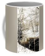 Snow-covered Stream Banks, Pennsylvania Coffee Mug