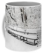 Snow In Central Park Nyc Coffee Mug
