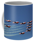 Snowbirds In Flight Coffee Mug