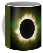 Solar Eclipse In Infrared Coffee Mug