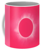 Solar Eclipse In Pink Color Coffee Mug