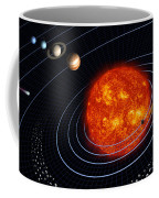 Solar System Coffee Mug by Stocktrek Images