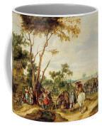 Soldiers Bivouacking Coffee Mug
