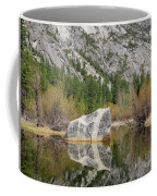 Some Beautiful Scene Of The Famous Mirror Lake Of Yosemite Coffee Mug