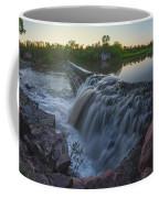 Split Rock Sunset Panorama Coffee Mug
