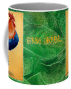 Spring Chicken... Coffee Mug by Will Bullas