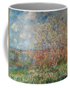Spring Coffee Mug by Claude Monet