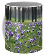 Spring Flowering Crocuses Coffee Mug