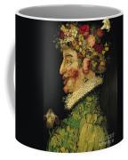 Spring Coffee Mug by Giuseppe Arcimboldo
