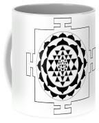Sri Yantra Coffee Mug